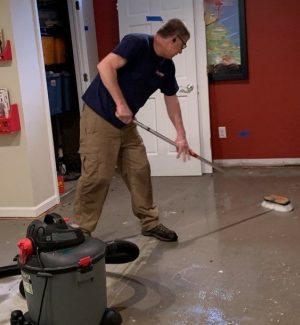 basement water cleanup kenosha, the dry guys, basement water extraction kenosha