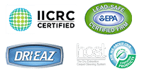 certifications, affiliations, the dry guys